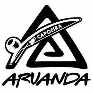 CAPOEIRA ARUANDA logo shape with writing