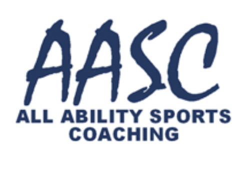 aasc logo letters with writing