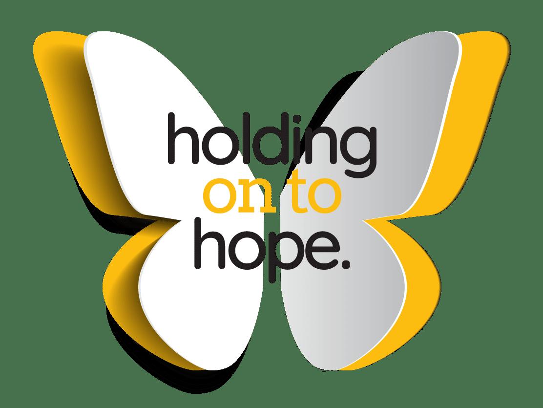Holding onto hope logo